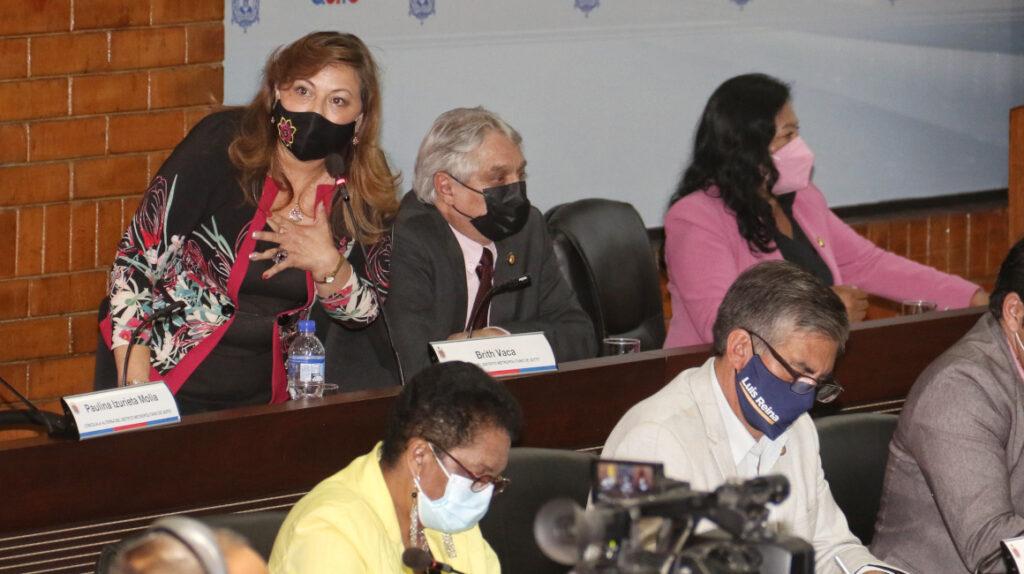 El correísmo se debilita en el Concejo de Quito tras elección de Vicealcaldesa