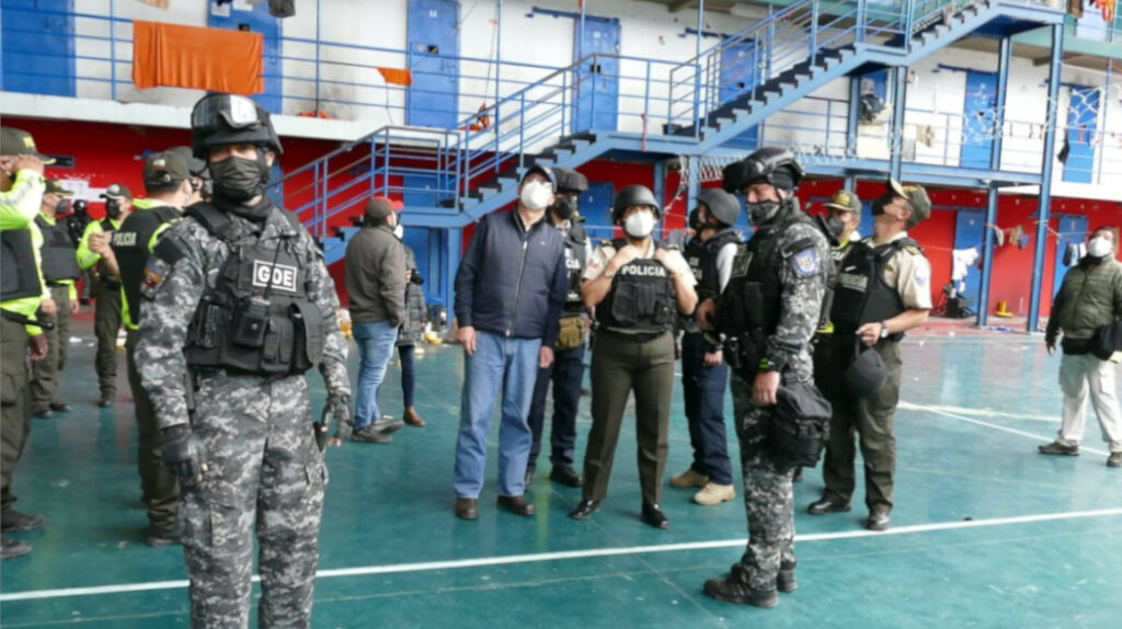 Cárcel de Latacunga será un 'búnker' amurallado y con puertas blindadas