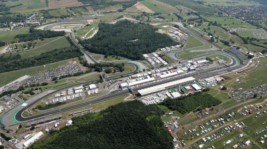 Autódromo de  Hungaroring, en donde se correrá el GP de Budapest 2021.