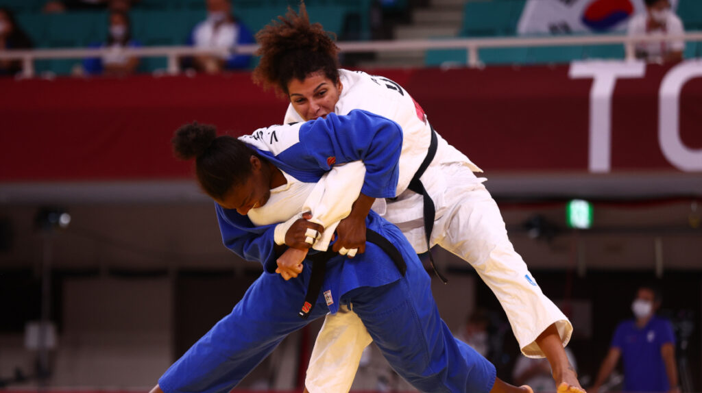 Anastasiya Turchyn elimina a Vanessa Chalá en judo por ippon