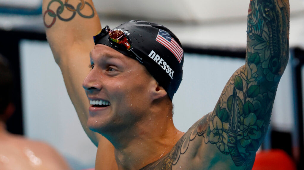 Caeleb Dressel gana los 100 metros libres y suma su segundo oro