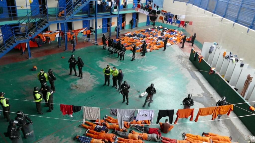 El SNAI entra en emergencia para reparar la cárcel de Latacunga