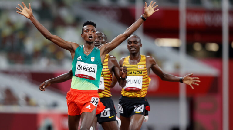 Selemon Barega gana para Etiopía el primer oro del atletismo en Tokio