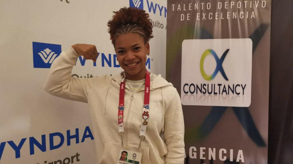 """Angie Palacios: """"Estoy orgullosa por el diploma olímpico que le di al país"""""""
