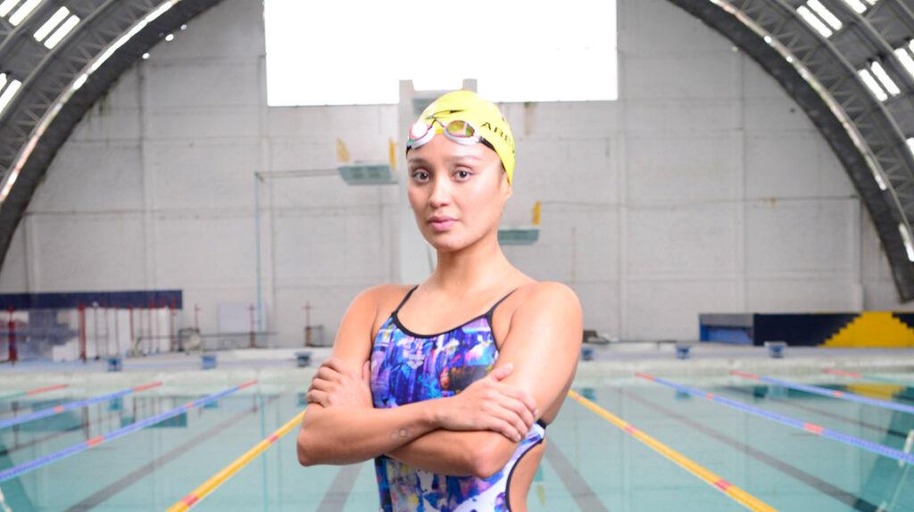 La estrategia que Samantha Arévalo prepara para la maratón acuática