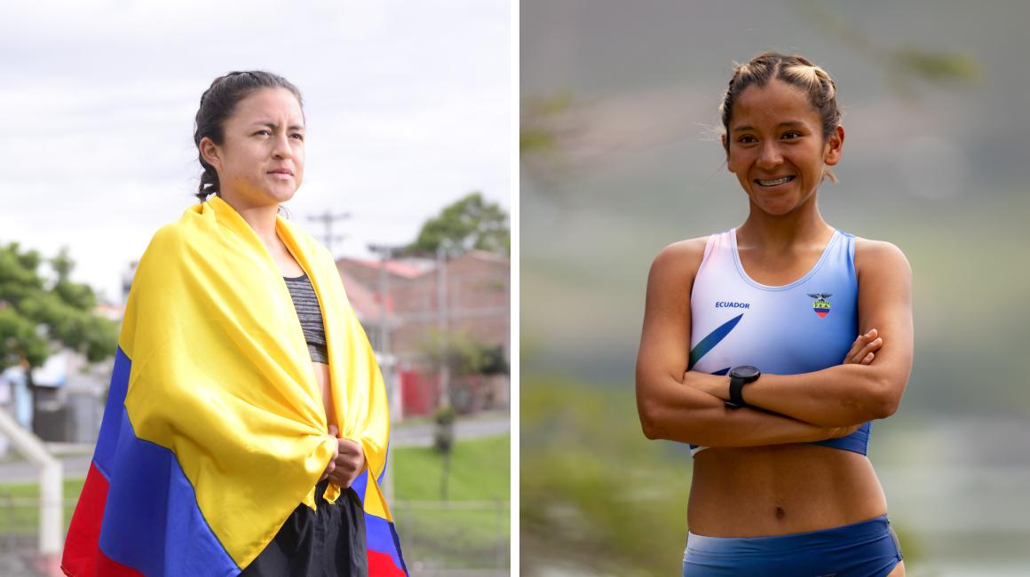Glenda Morejón y Karla Jaramillo competirán el sábado 6 de agosto, a las 02:30 (hora de Ecuador), en los 20 kilómetros marcha.