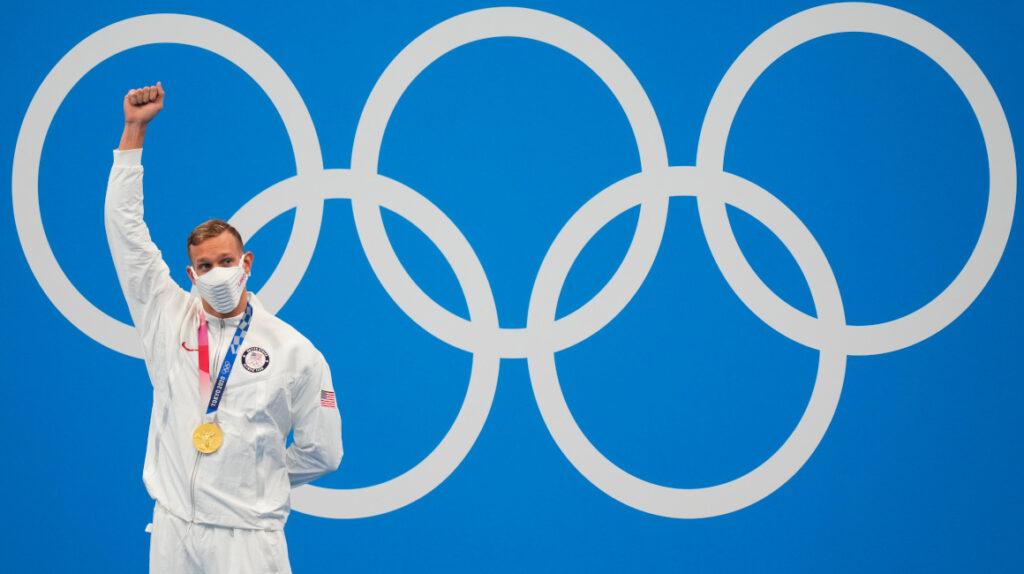 Caeleb Dressel suma su tercer oro y un nuevo récord en Tokio