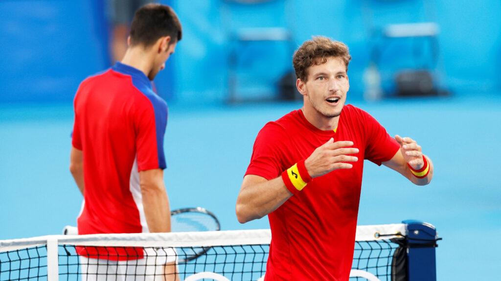 Novak Djokovic cae ante Carreño Busta y se va de Tokio sin medallas