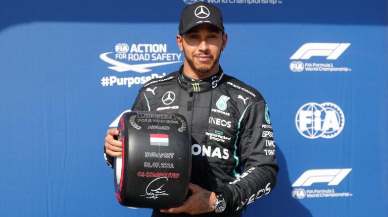 Lewis Hamilton saldrá primero en el Gran Premio de Hungría de F1