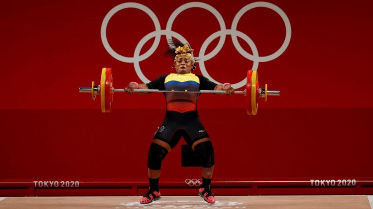 La carchense Tamara Salazar consigue la tercera medalla para Ecuador en los Juegos Olímpicos de Tokio, el lunes 2 de agosto de 2021.