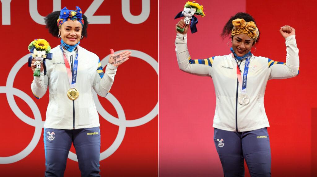 Ecuador festeja la medalla de otra mujer en los Juegos Olímpicos de Tokio