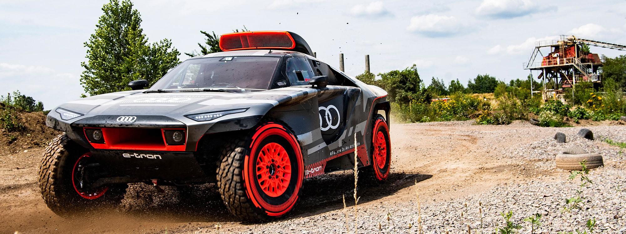 Audi le apuesta a nueva tecnología para ganar el Dakar 2022