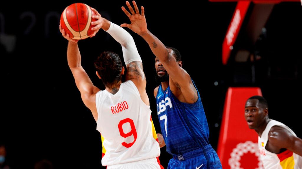 Kevin Durant lleva a Estados Unidos a las semifinales de baloncesto