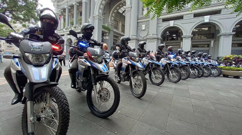 Municipio de Guayaquil donó 50 motos para fortalecer la seguridad
