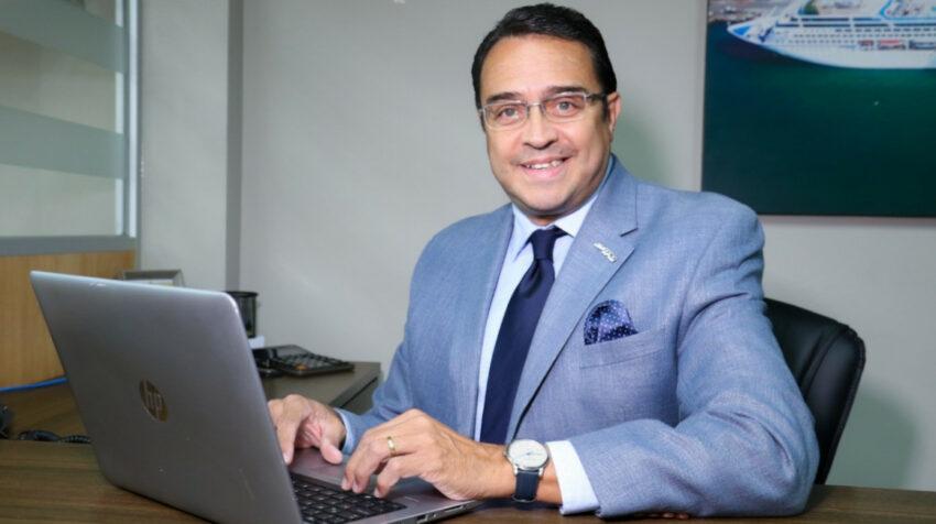 Roberto Salazar Bracco, presidente de la Terminal Portuaria de Manta.