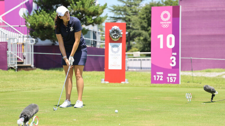 Daniela Darquea, durante su participación en los Juegos Olímpicos de Tokio, el 3 de agosto de 2021.
