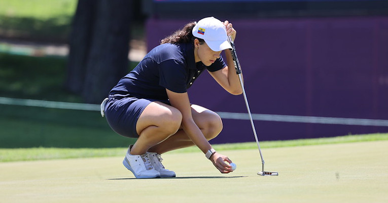 Daniela Darquea finaliza su participación en el golf de los Juegos de Tokio