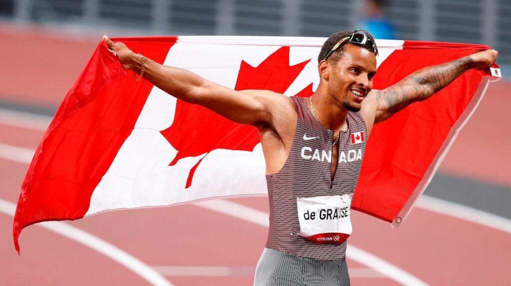 Andre De Grasse se lleva el oro olímpico en los 200 metros planos