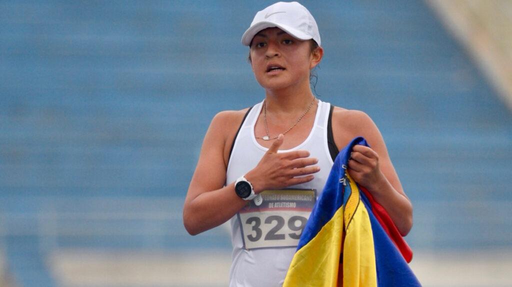 Morejón está motivada por las medallas de Carapaz, Dajomes y Salazar