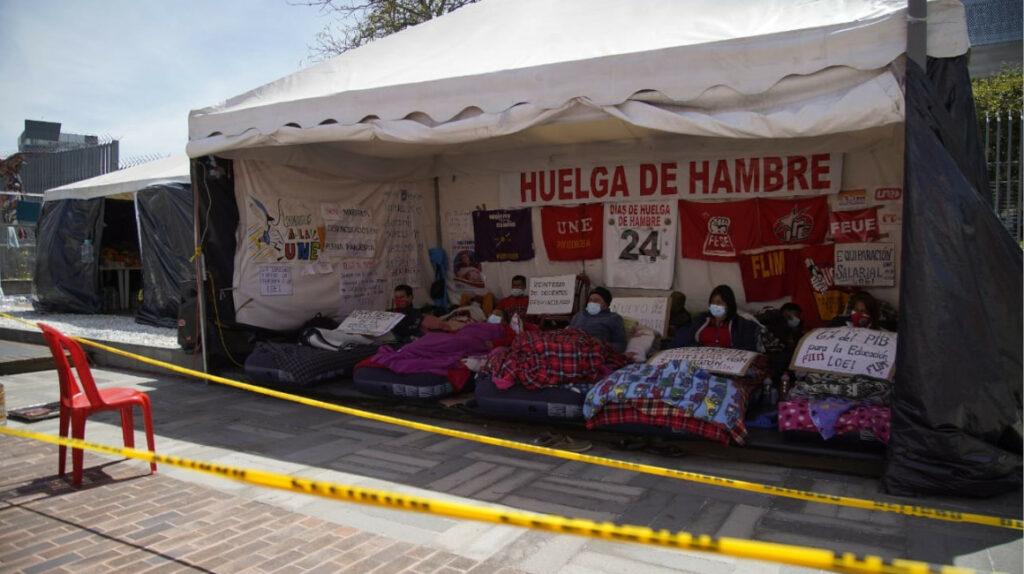 El Ejecutivo neutraliza el paro en Huaquillas pero tiene más frentes