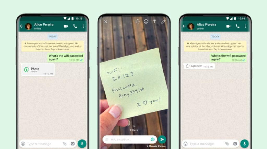 WhatsApp: opción de fotos y videos que se eliminan tras ser vistos una vez