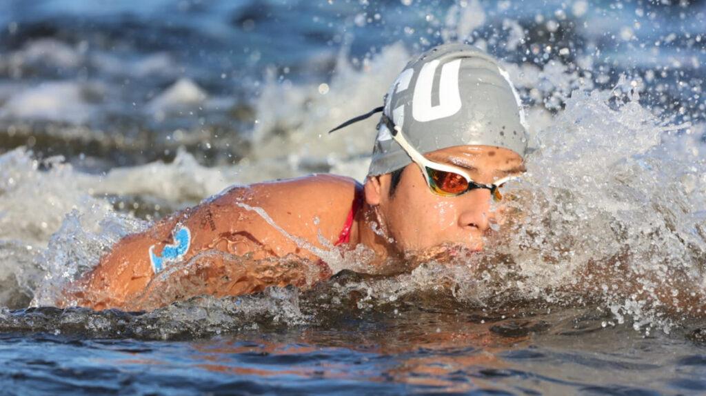 David Farinango termina en el puesto 15 en la maratón acuática de Tokio