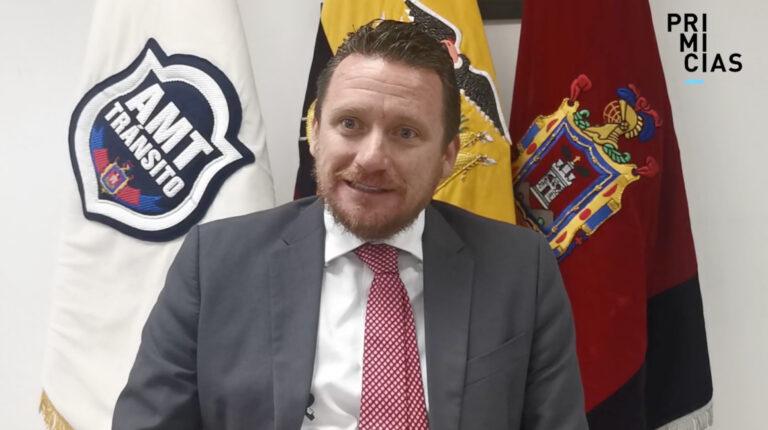 Juan Manuel Aguirre en entrevista con PRIMICIAS, el 18 de mayo de 2021.