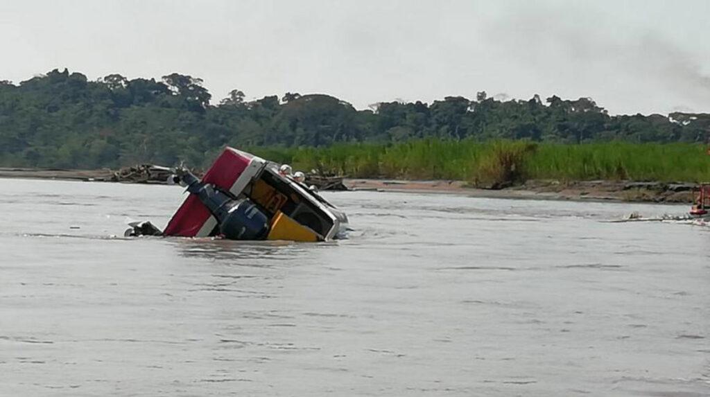 Fiscalía inicia investigación por hundimiento de un bote en el río Napo