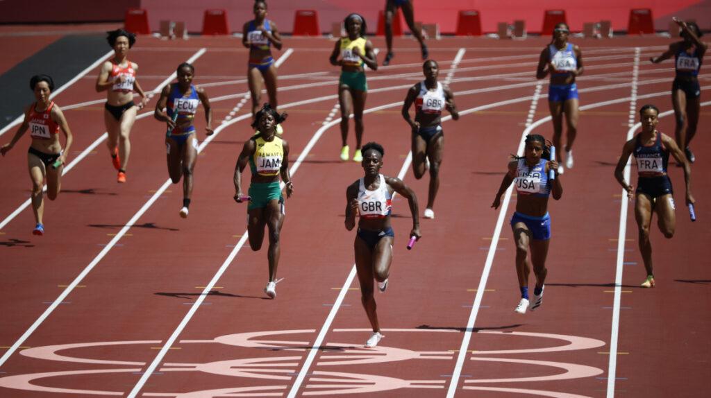 El equipo ecuatoriano no avanza a la final de relevos 4×100 metros en Tokio