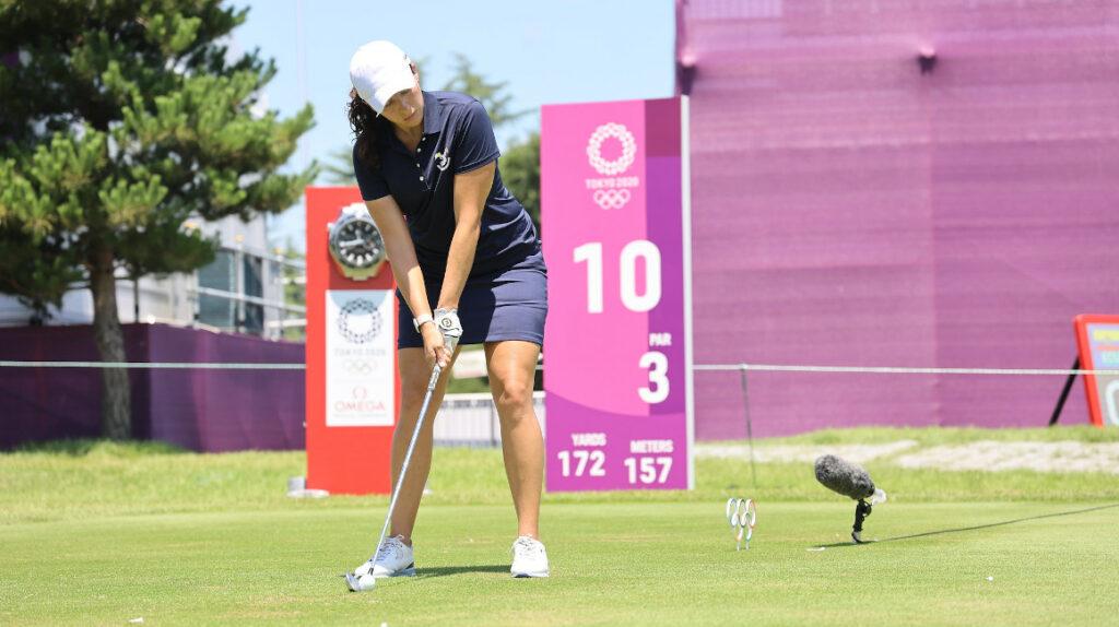 Daniela Darquea alcanza la mejor marca en la tercera ronda de golf