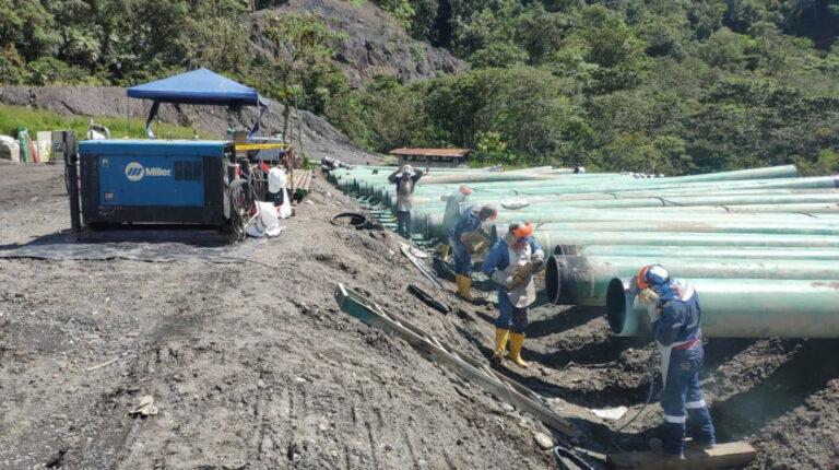 OCP inicia construcción de variante definitiva por erosión río Coca