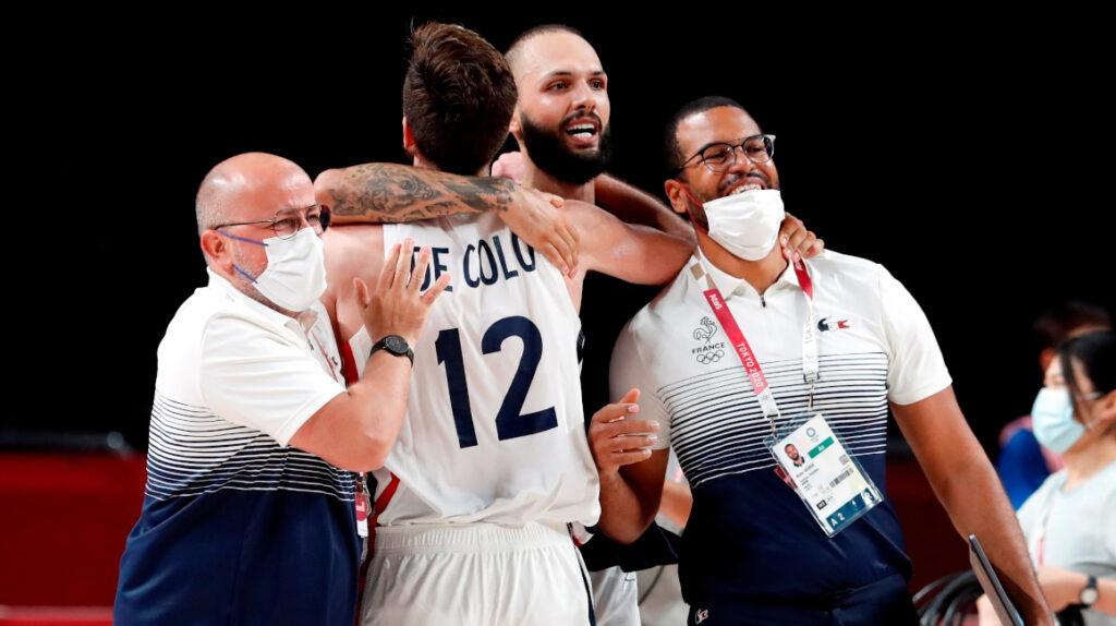 Francia se medirá a Estados Unidos en la final de baloncesto en Tokio