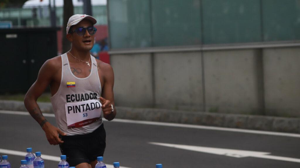 Daniel Pintado, el ecuatoriano mejor ubicado en los 20 kilómetros marcha