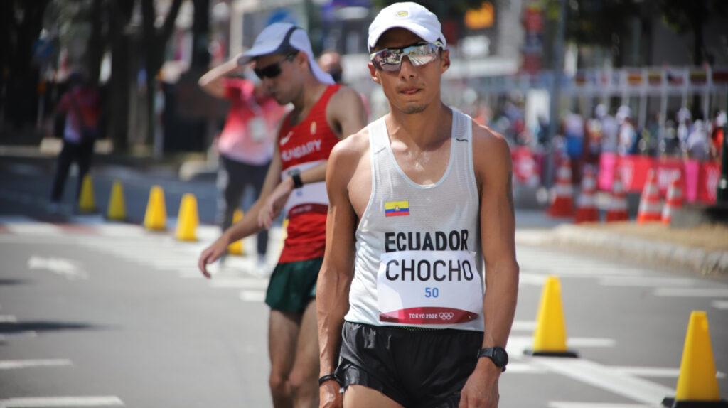 Andrés Chocho termina en el puesto 19 en sus cuartos Juegos Olímpicos