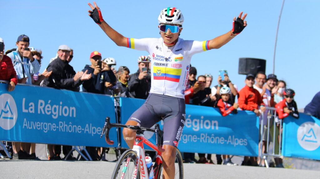 Alexander Cepeda gana la Etapa 2 y es el nuevo líder del Tour de Savoie