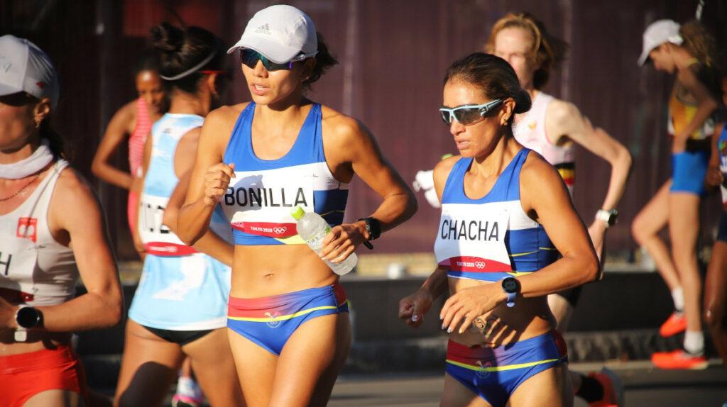 Rosalba Chacha finaliza la maratón en el puesto 41