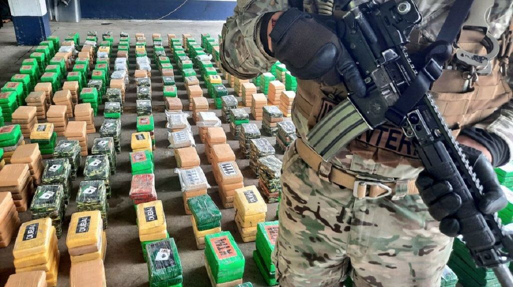 Panamá: incautan contenedor de droga que partió desde Ecuador