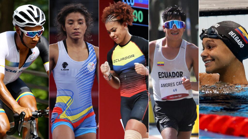 Cinco talentos que Ecuador debe pulir para los Juegos Olímpicos de París