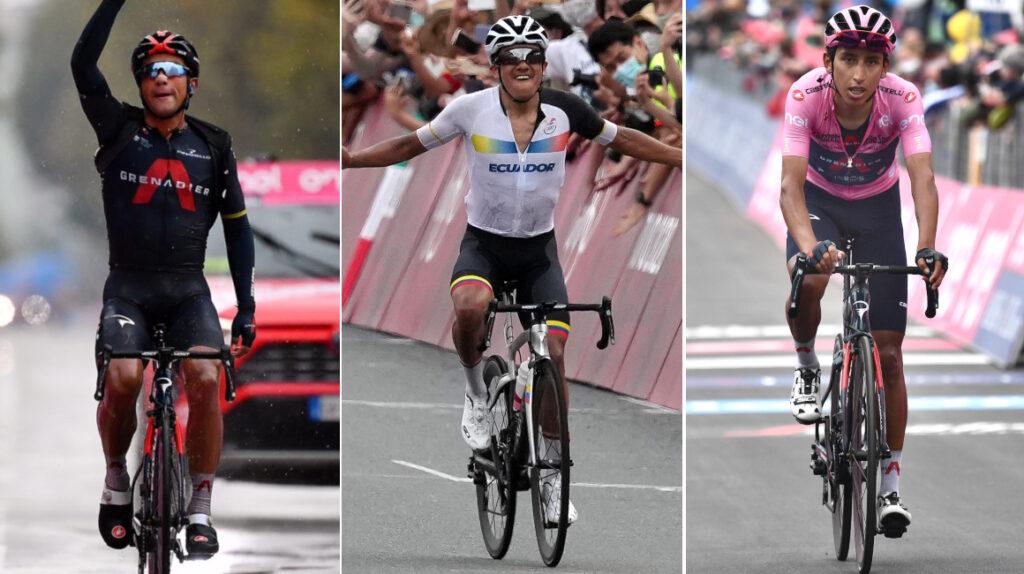Carapaz, Narváez y Bernal correrán la Vuelta a España con el Ineos