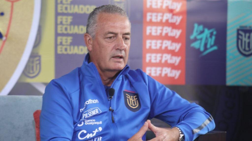 """Gustavo Alfaro: """"Nadie tiene la obligación de venir a la Selección"""""""