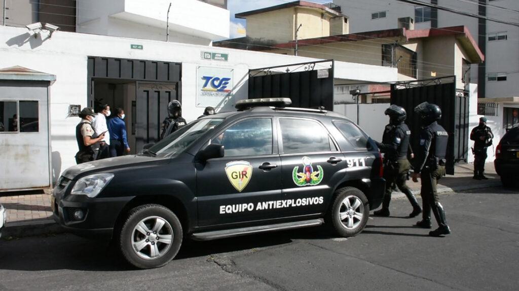 TCE denuncia 'intimidación' con una amenaza de bomba