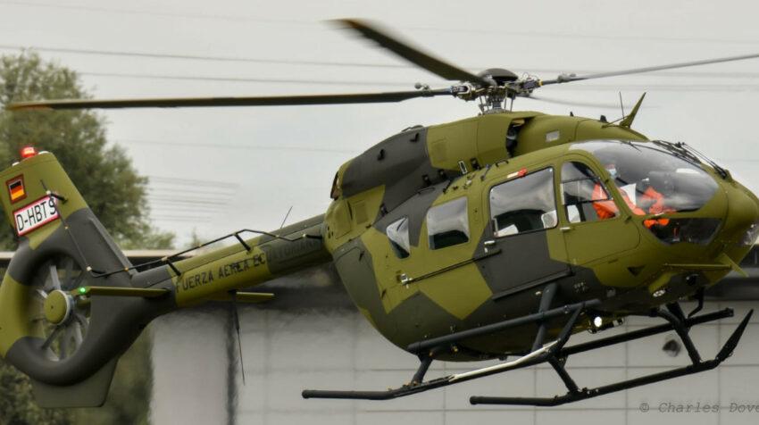 Ecuador compró seis helicópteros H145 para el control del espacio aéreo.