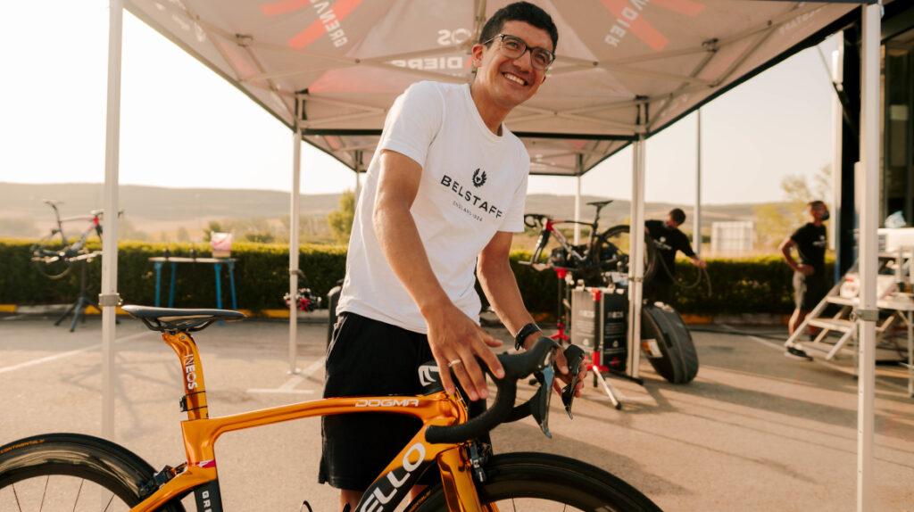 Richard Carapaz: 'Vengo a la Vuelta a España con intención de ganarla'