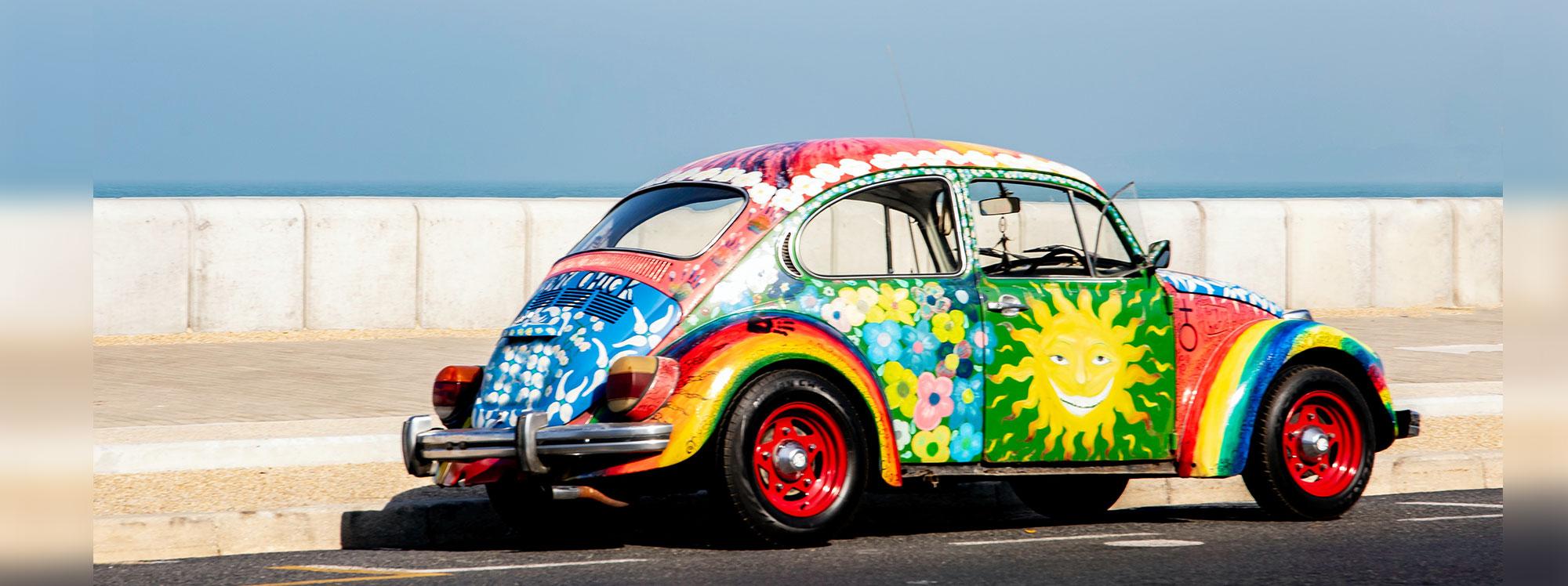 La psicología del color influye en la elección de un auto