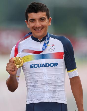 Richard Carapaz (28 años)