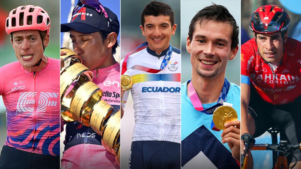 Los cinco favoritos para ganar la Vuelta a España 2021