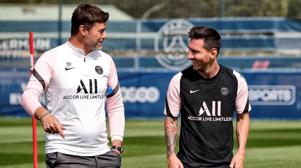 Mauricio Pochettino no da fecha para el debut de Lionel Messi en el PSG