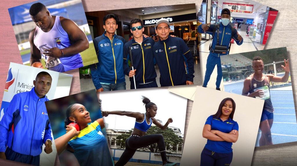 Ecuador lleva ocho atletas y dos guías a los Juegos Paralímpicos de Tokio