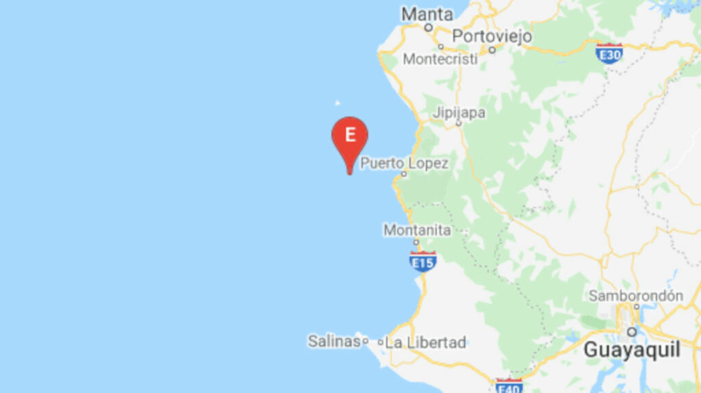 Una cadena de sismos entre 4,65 y 5,48 se registró en la costa de Manabí