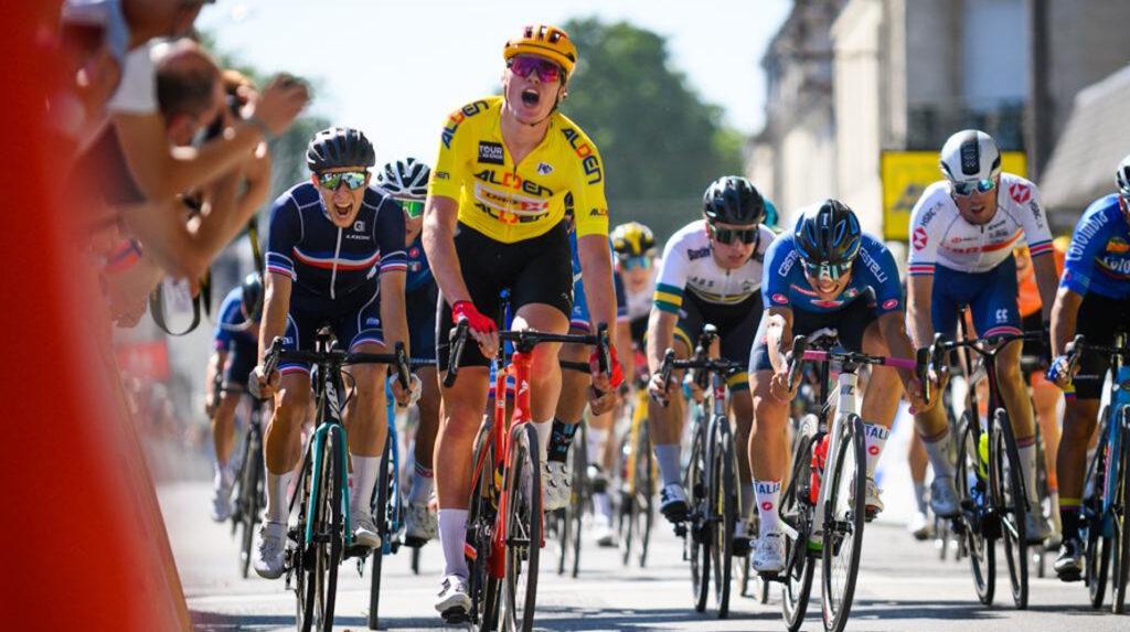 Soren Wærenskjold gana la Etapa 1 y sigue como líder del Tour de l'Avenir